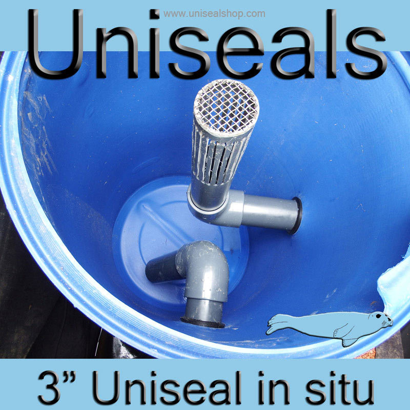 3 inch Uniseal in situ