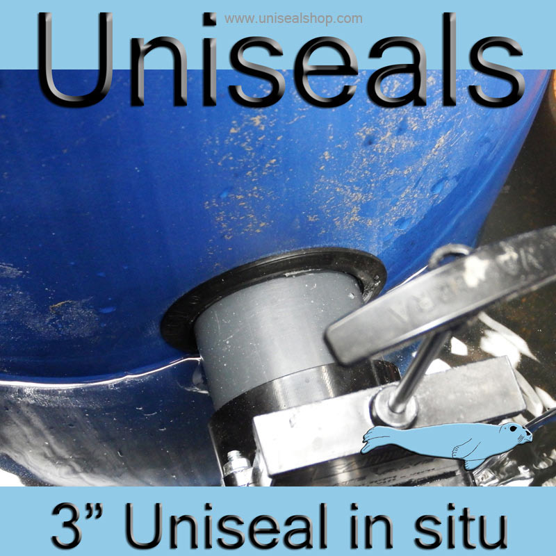 3 inch Uniseal in situ 2