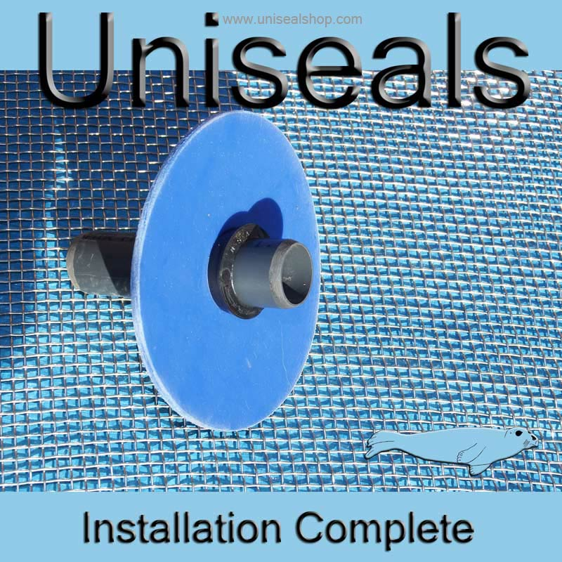 Uniseal installation completed