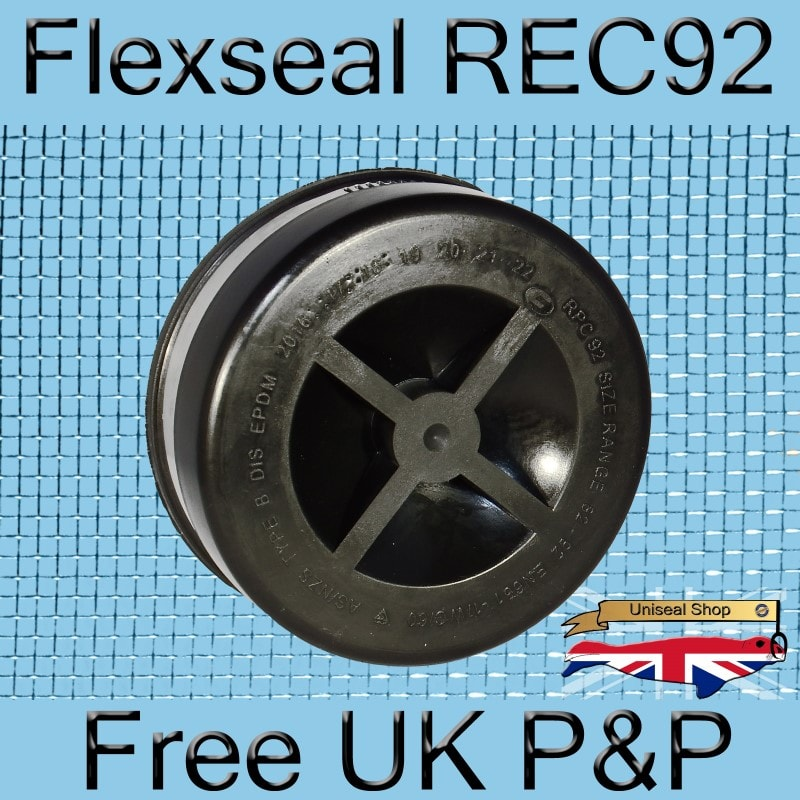 Magnify Flexseal REC92 Plumbing End Cap photo Flexseal_End_Cap_REC92_01_800.jpg