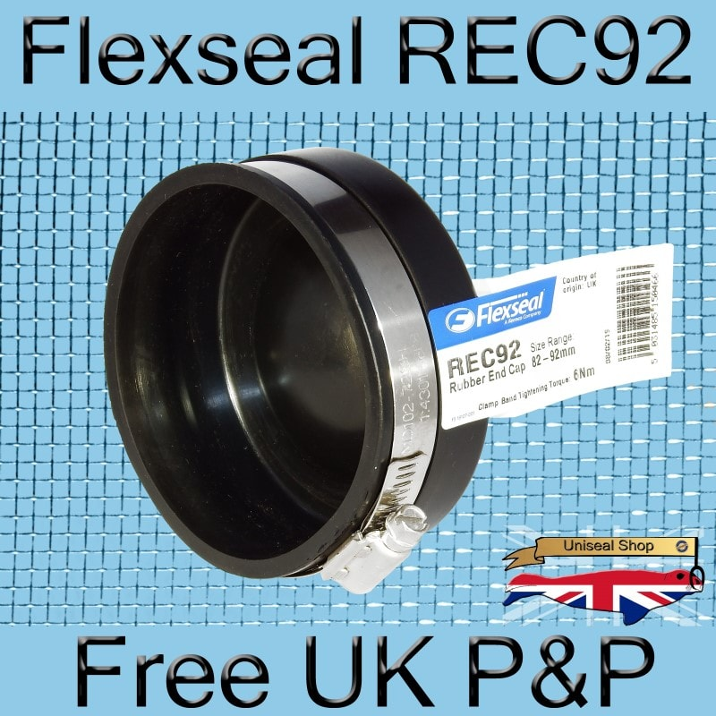 Magnify Flexseal REC92 Plumbing End Cap photo Flexseal_End_Cap_REC92_04_800.jpg