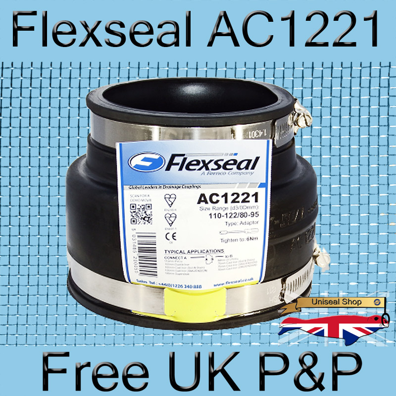 Magnify Flexseal AC1221 Plumbing Adaptor photo Flexseal_Plumbing_Adaptor_Reducer_AC1221-800_1.jpg