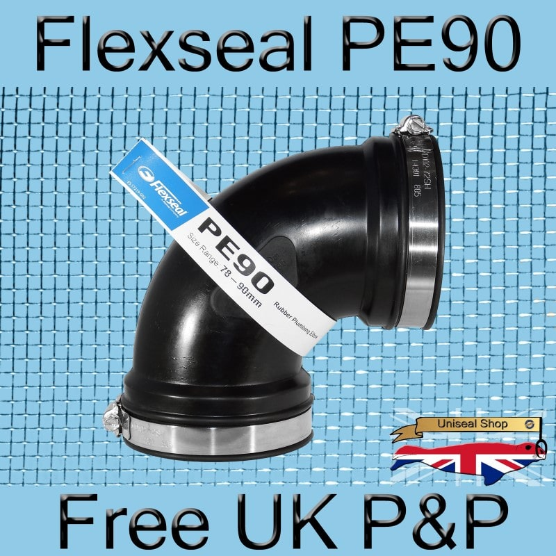 Magnify Flexseal PE90 Elbow Connector photo Flexseal_Plumbing_Elbow_PE90_02_800.jpg