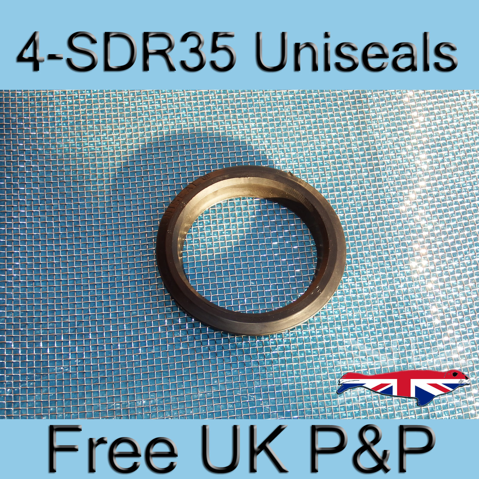 Magnify 4 inch-SDR35 Uniseal photo