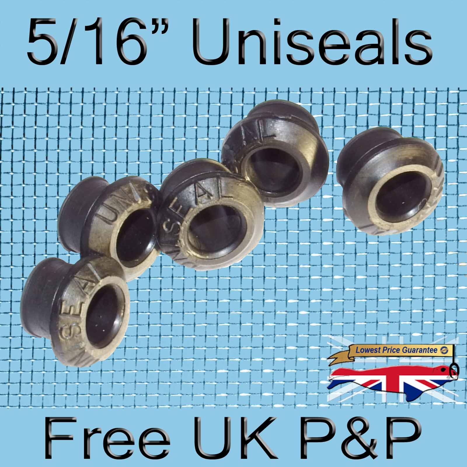 Magnify 5/16 inch Uniseal photo 5xfive-sixteenths-Uniseal-Tank-Connector.jpg