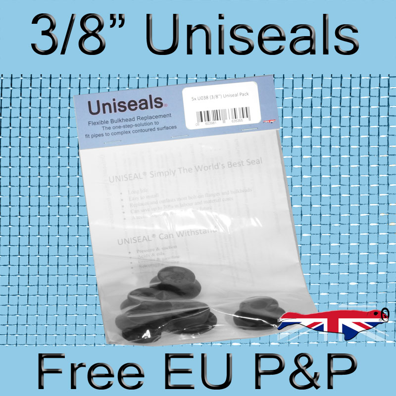 Magnify 3/8 inch Europe Uniseal photo