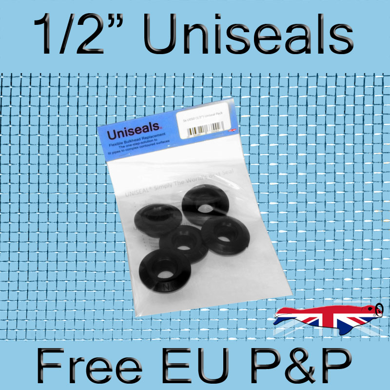 Magnify 1/2 inch Europe Uniseal photo